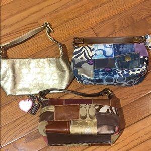 Bundle of Authentic Coach Bags
